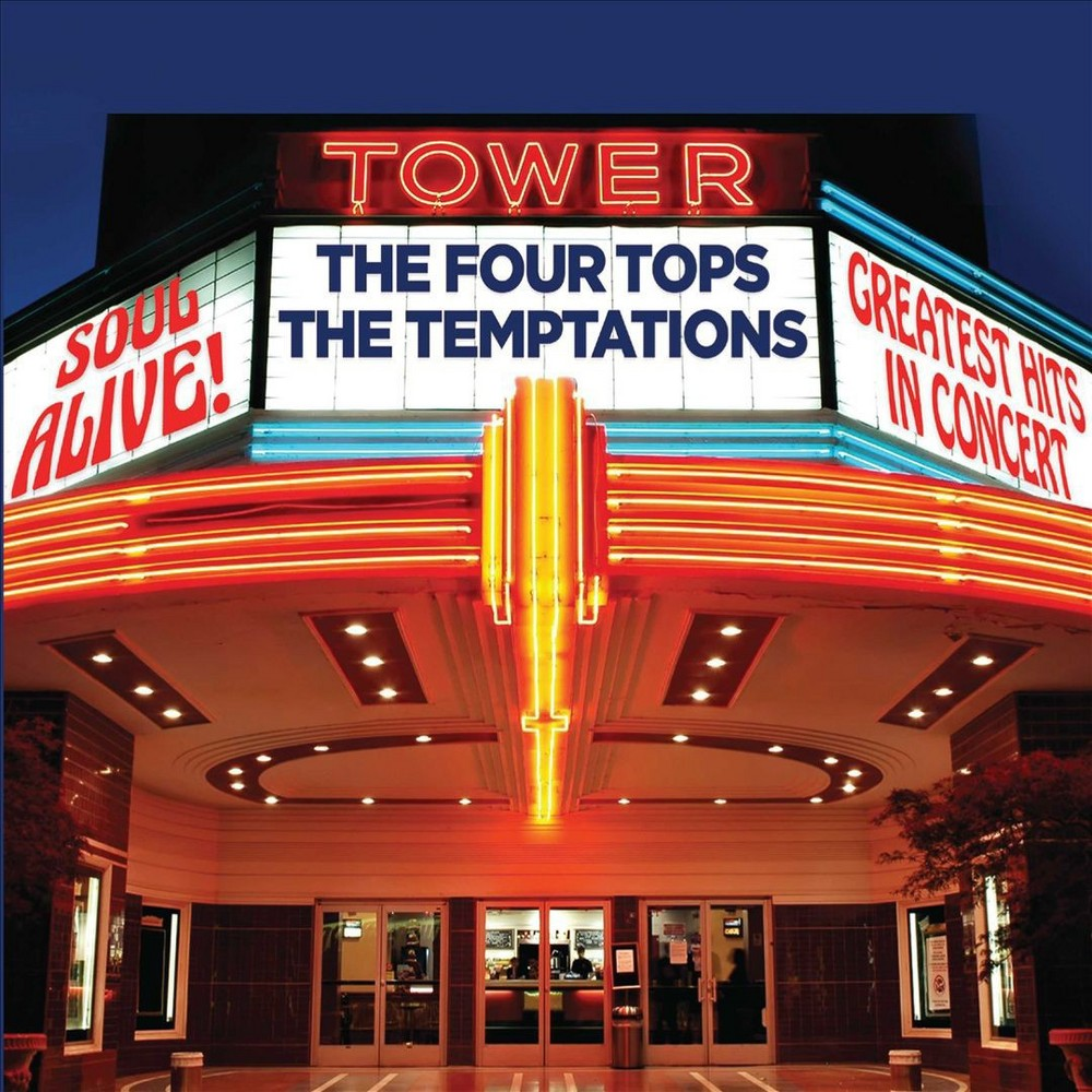 Four Tops - Soul Alive:Greatest Hits In Concert (CD)