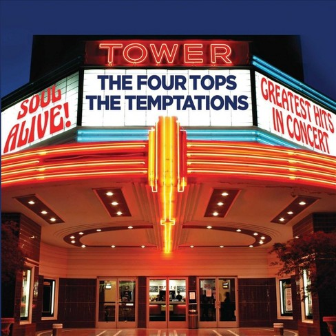 Four tops - Soul alive:Greatest hits in concert (CD) - image 1 of 1