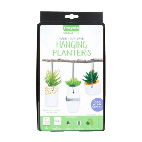 Crayola 14pc DIY Hanging Planter Kit, Personalized Planter - image 1 of 4