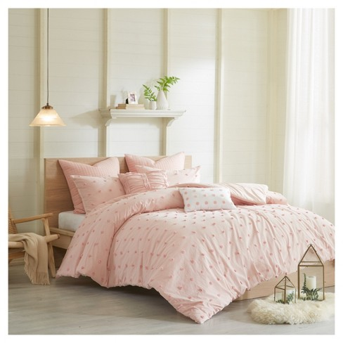 Pink Kay Duvet Set (Full/Queen) - image 1 of 14