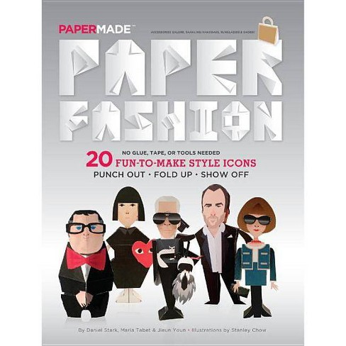 Paper Fashion - by  Papermade (Paperback) - image 1 of 1