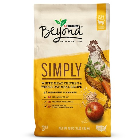Purina® Beyond White Meat Chicken & Whole Oat Meal Recipe Dry Cat Food - image 1 of 6