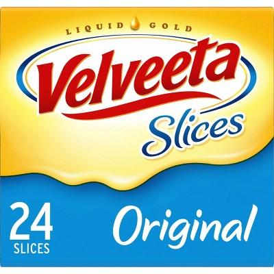 Velveeta Cheese Slices - 16oz/24ct