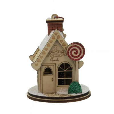 """Ginger Cottages 3.25"""" Goody Goody Gum Drop Shop Christmas  -  Tree Ornaments"""
