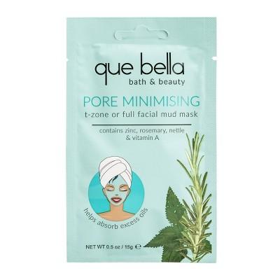 Que Bella Pore Minimizing Mud Face Mask - 0.5oz
