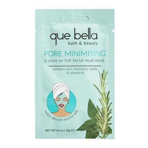 Que Bella Pore Minimizing Mud Face Mask - 0.5oz - image 1 of 4