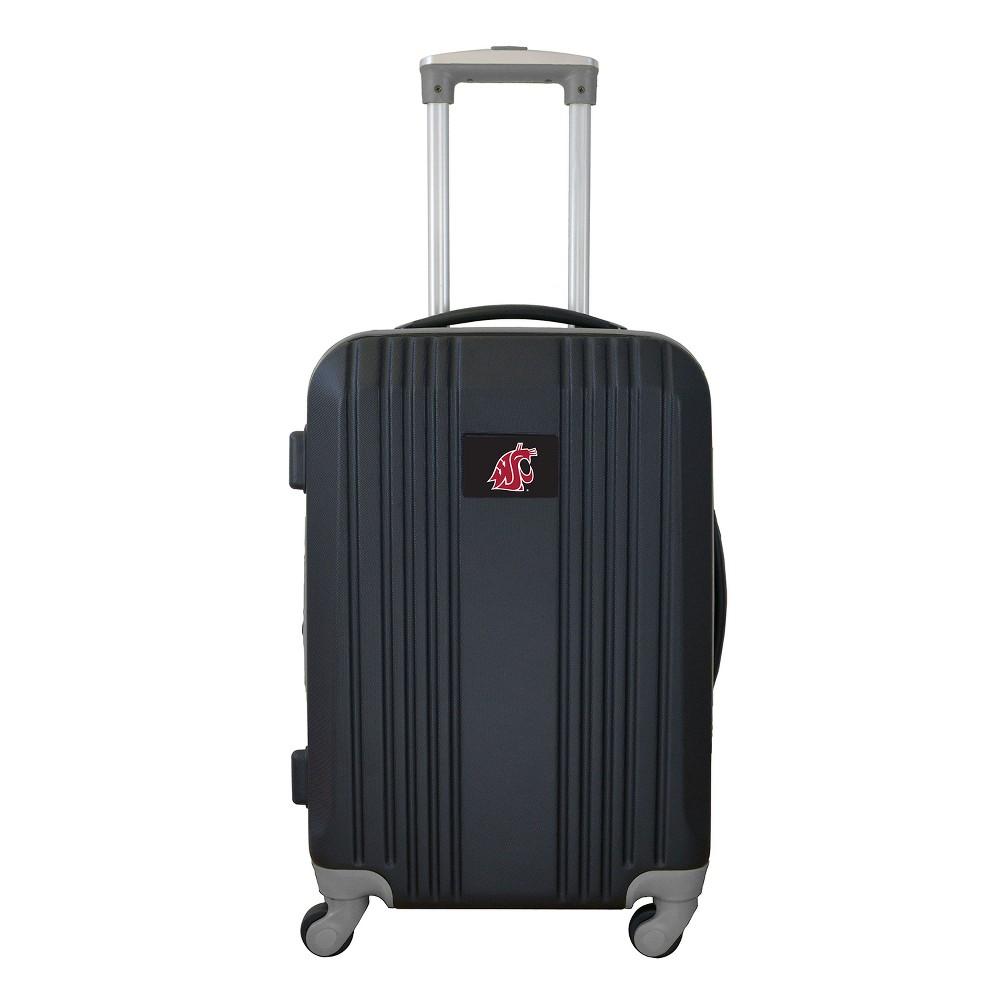 NCAA Washington State Cougars 21 Hardcase Two-Tone Spinner Carry On Suitcase