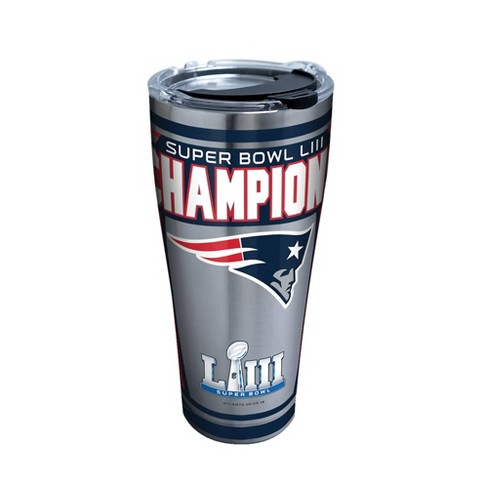 NFL New England Patriots Super Bowl LIII Champion 30oz Stainless Steel Tumbler - image 1 of 1
