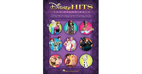 Disney Hits for Piano Solo (Paperback) - image 1 of 1