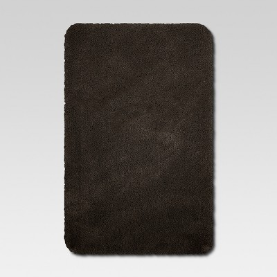37 x23  Performance Nylon Bath Rug Brown - Threshold™
