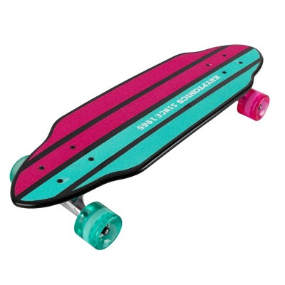 "Kryptonics 26"" Mini Cutaway Mermaids Cruiser Board - Teal/Pink"