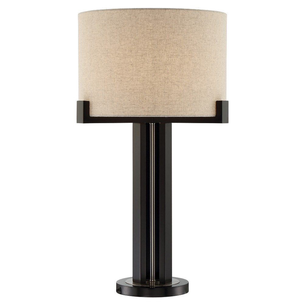 Image of Barend Table Lamp Dark Walnut - Lite Source