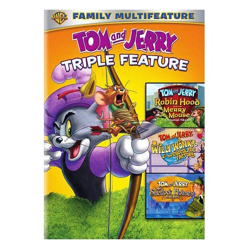 Tom And Jerry Triple Feature (DVD) : Target