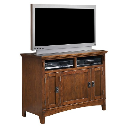 Cross Island Tv Stand Medium Brown 42 Signature Design By Ashley