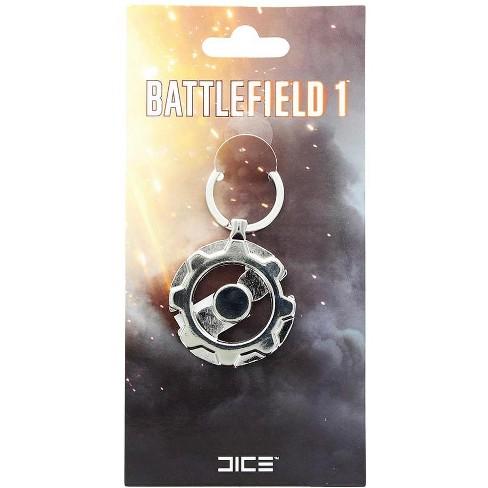 Huge Crate Battlefield 1 Tanker & Pilot Emblem Key Ring