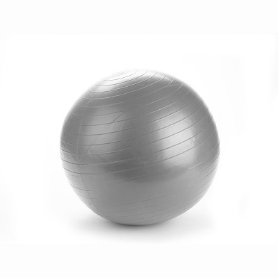 Mind Reader Anti-Burst Heavy Duty Yoga Ball with Quick Pump, 65 CM