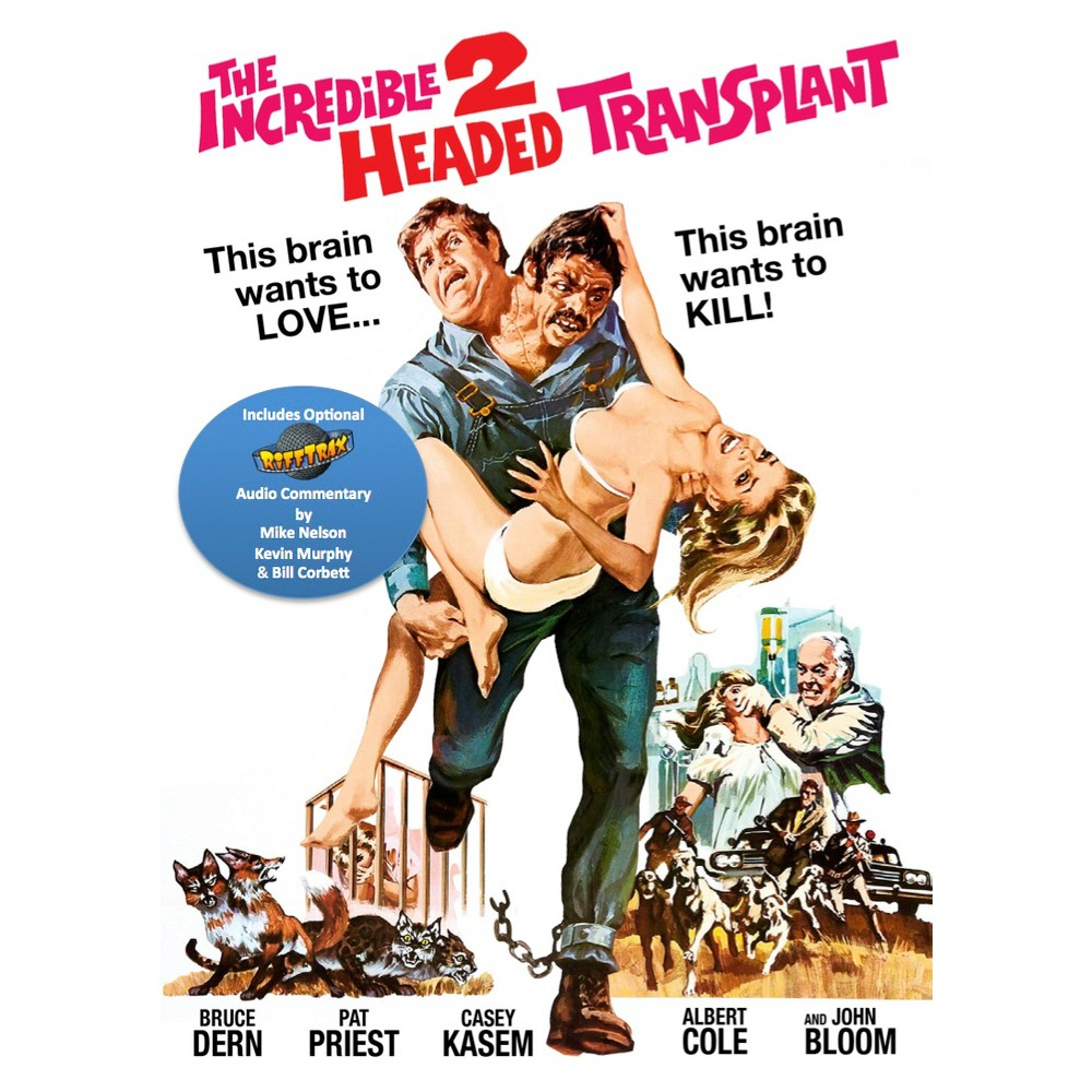 Incredible Two Headed Transplant (Dvd)
