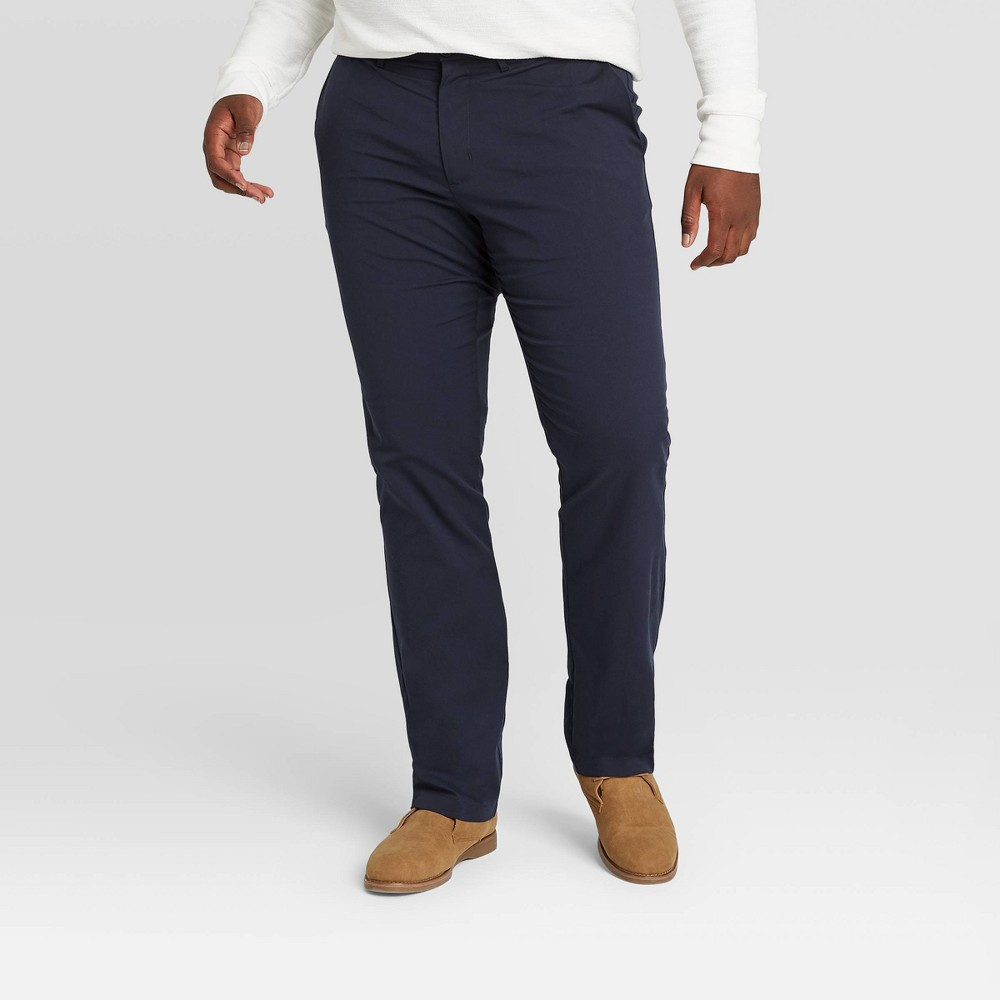 Cheap Men's Big & Tall Slim Straight Fit Hennepin Tech Chino Pants - Goodfellow & Co™