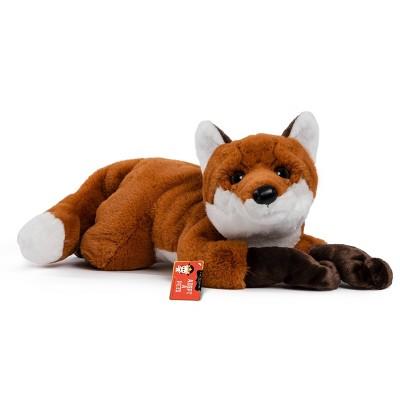 "FAO Schwarz Adopt-A-Pets Fox 22"" Stuffed Animal with Adoption Certificate"