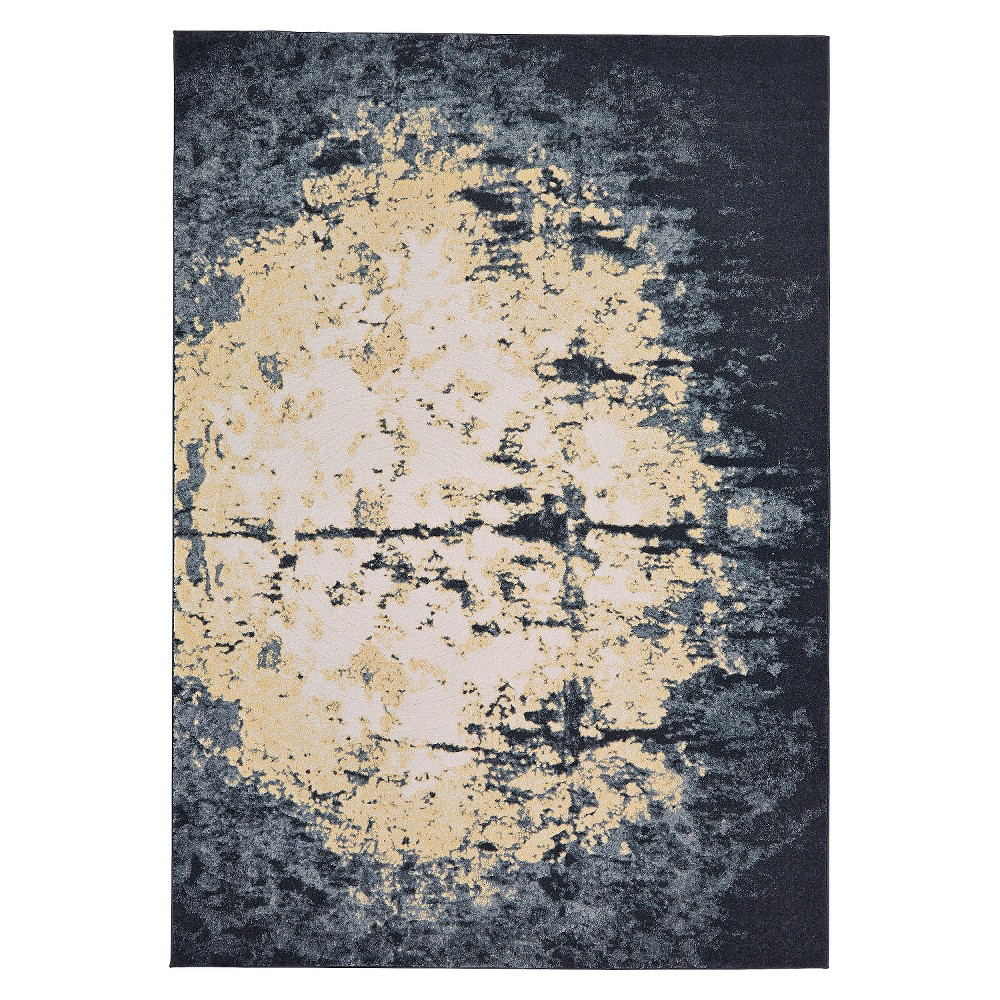 5'X8' Galaxy Woven Area Rugs Rich Charcoal - Weave & Wander, Gray