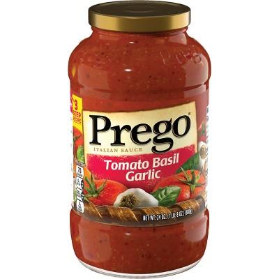 Prego Tomato Basil Garlic Italian Sauce 24oz