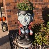 """27"""" Count Dracula Vampire Statue with Built-In Candy Dish - Sunnydaze Decor - image 3 of 4"""
