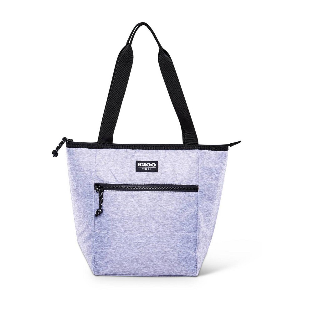 Image of Igloo Active 12 Can Lunch Tote - Heather Gray/Black