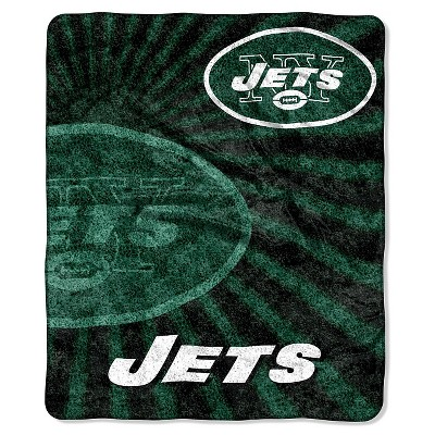 NFL New York Jets Sherpa Throw Blanket - 50 x60