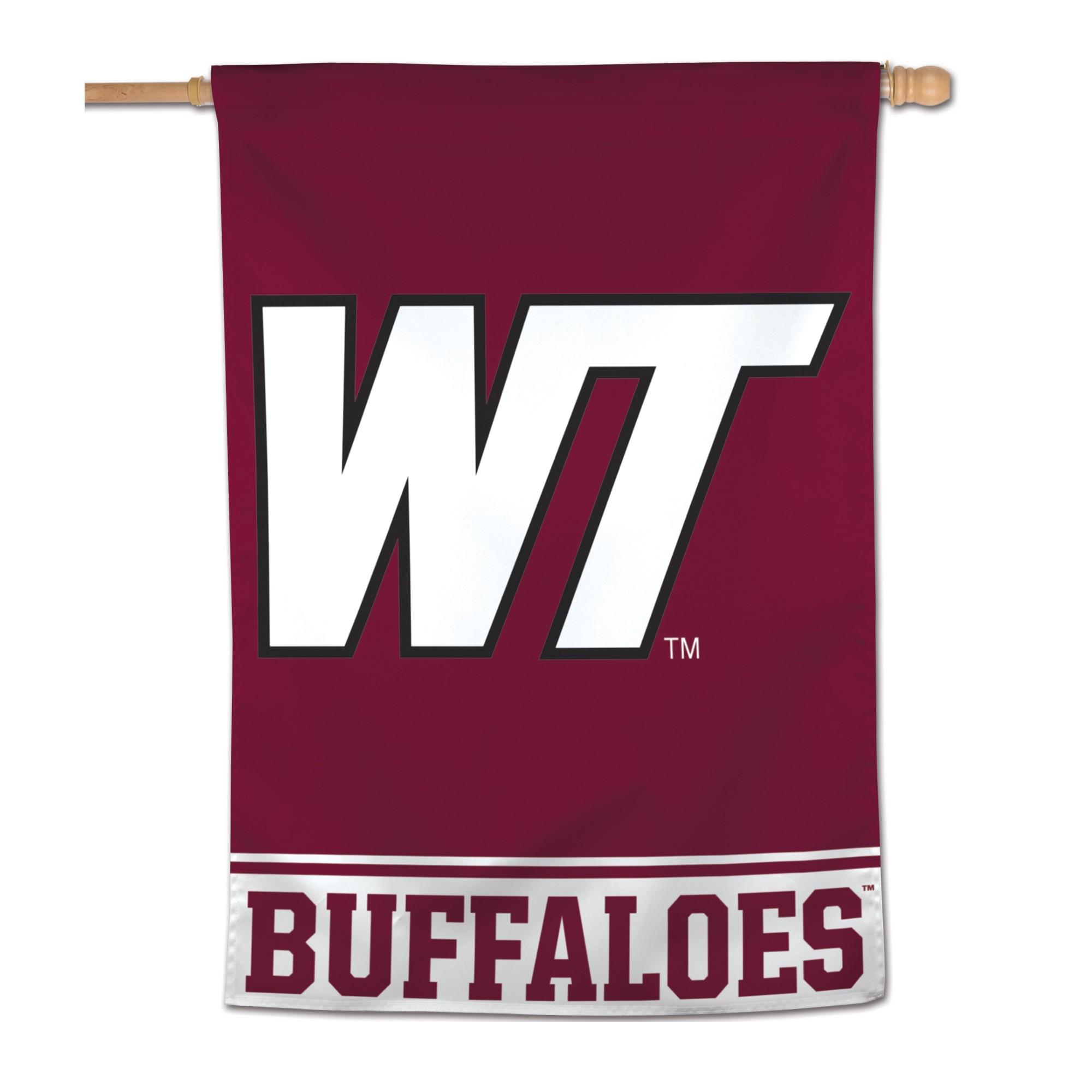 NCAA West Texas A&m Buffaloes Vertical Banner