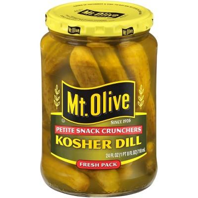 Mt. Olive Kosher Dill Pickles - 24oz