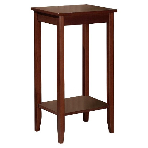 Rosewood Tall End Table - Coffee - Dorel Home Products - image 1 of 3