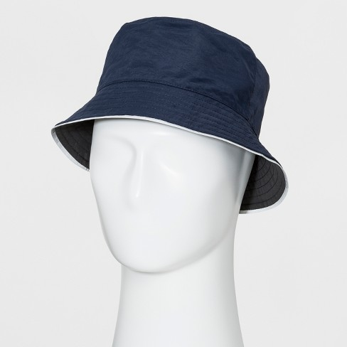 d82f7ad3b Men's Bucket Hat - Goodfellow & Co™ Navy L/XL