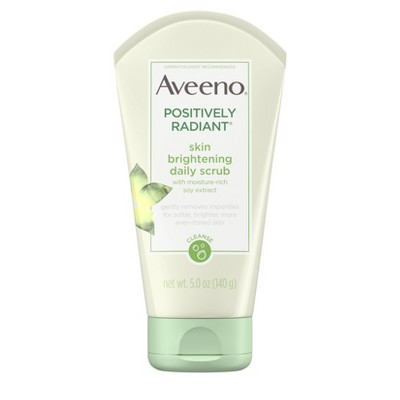 Facial Cleanser: Aveeno Positively Radiant Skin Brightening Daily Scrub