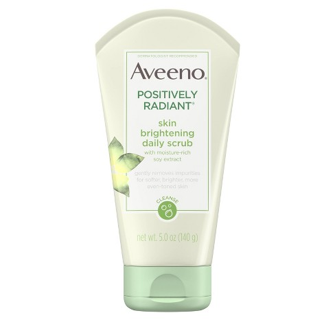 Aveeno Positively Radiant Skin Brightening Daily Scrub - 5oz - image 1 of 4