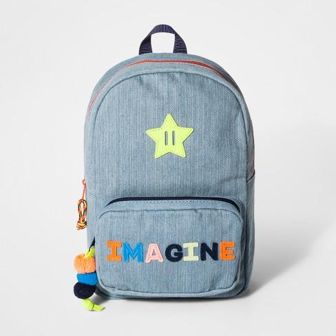 021dcd8d7b Girls  Imagine Dome Mini Backpack - Cat   Jack™ Blue   Target