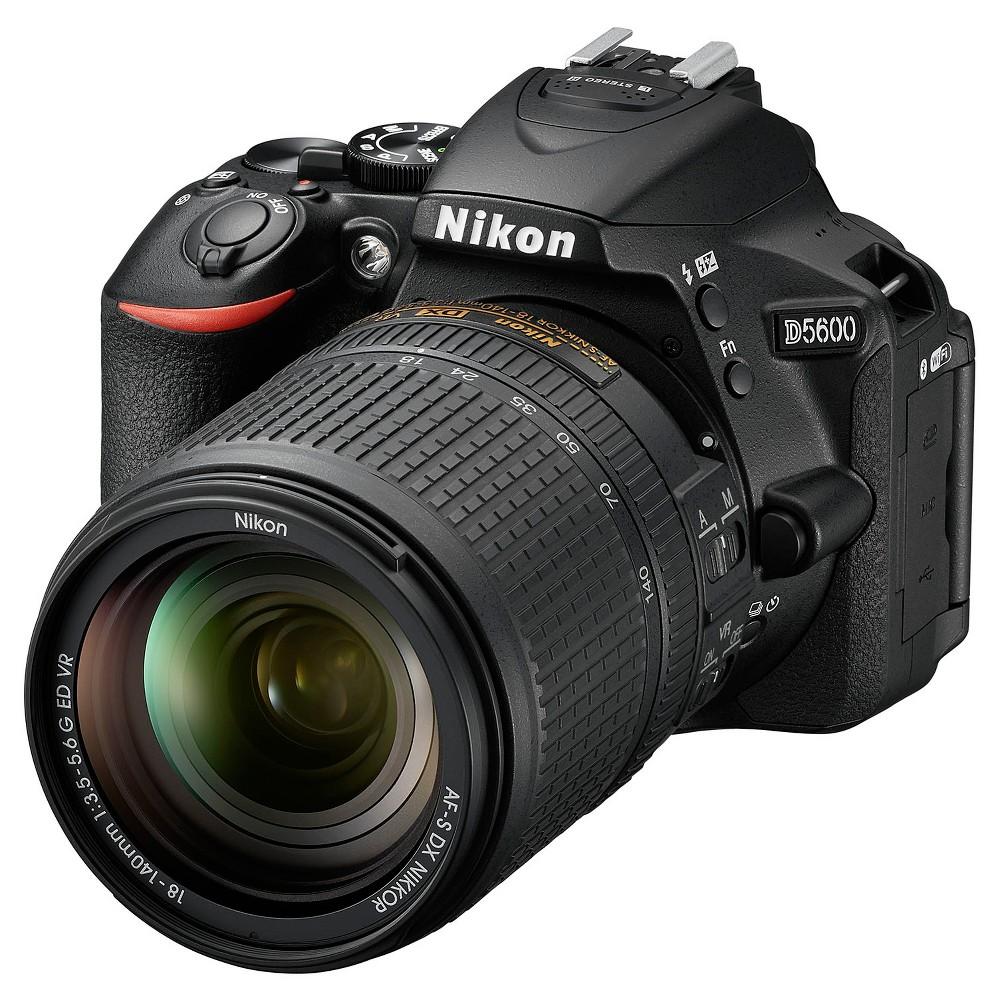 Nikon D5600 Digital SLR Camera 18-140mm - Black (1577)