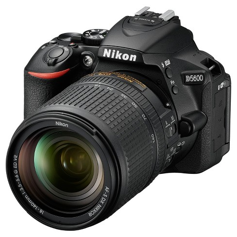 Nikon® D5600 Digital SLR Camera 18-140mm - Black (1577) - image 1 of 3