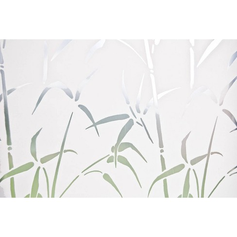 Brewster Bamboo Door Privacy Film Medium Clear - image 1 of 3