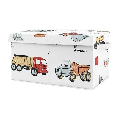 Construction Truck Toy Bin - Sweet Jojo Designs