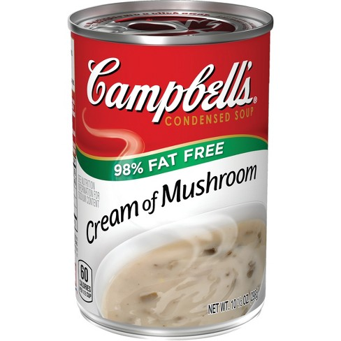 Campbell's® Low Fat Condensed Cream of Mushroom Soup 10.5 oz - image 1 of 5
