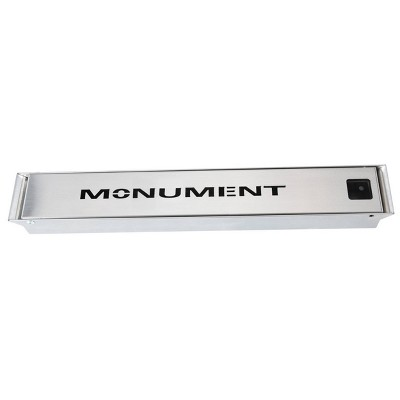 Stainless Steel Smoke Box - Monument Grills