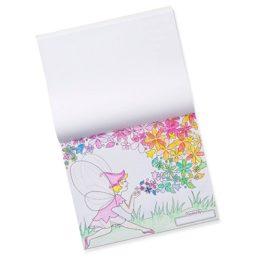 Melissa & Doug Sticker Collection and Coloring Pads Set: Princesses, Fairies, Animals, and More image number null