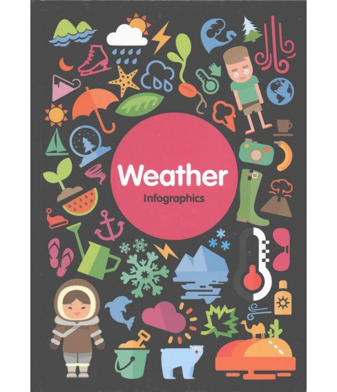 Weather Infographics (Hardcover) (Harriet Brundle) - image 1 of 1