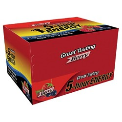 5 Hour Energy Shot - Berry - 12ct