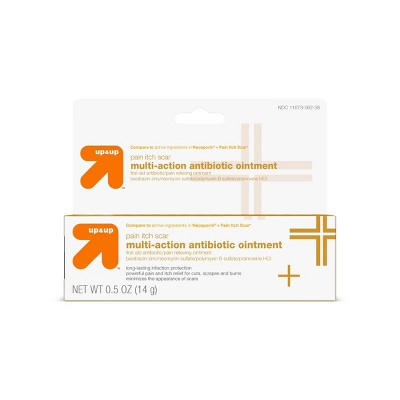 Multi-Action Antibiotic First Aid Ointment - .5oz - up & up™