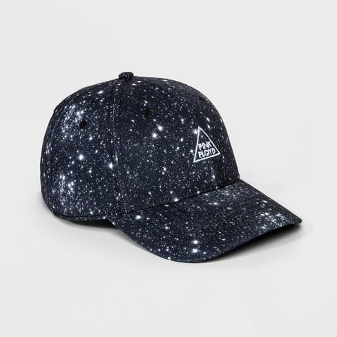 Men s Pink Floyd Space Baseball Hat - Black One Size - image 1 ... 0230955246b