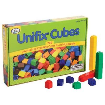 Didax 240 Unifix Cubes