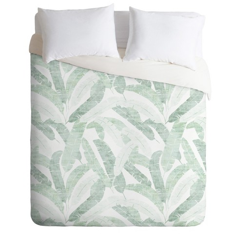 Holli Zollinger Banana Leaves Duvet Set - Deny Designs - image 1 of 2