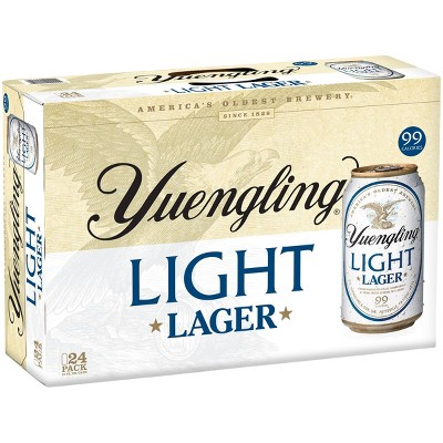 Yuengling Light Lager Beer - 24pk/12 fl oz Cans