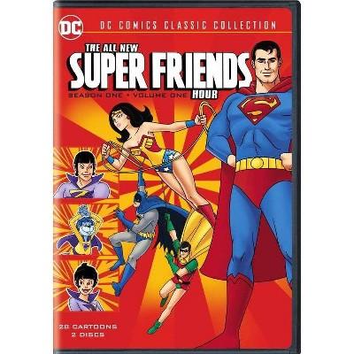 The All New Super Friends Hour: Season 1, Volume 1 (DVD)